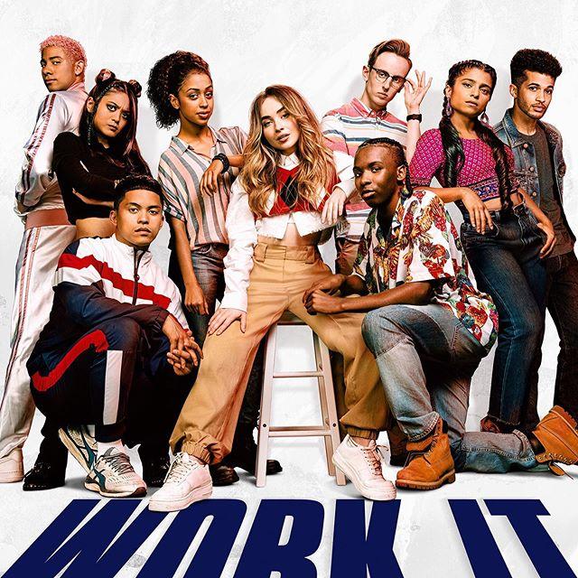 NETFLIX MOVIE 2020 'Work It' featuring Sabrina Carpenter and Liza Koshy