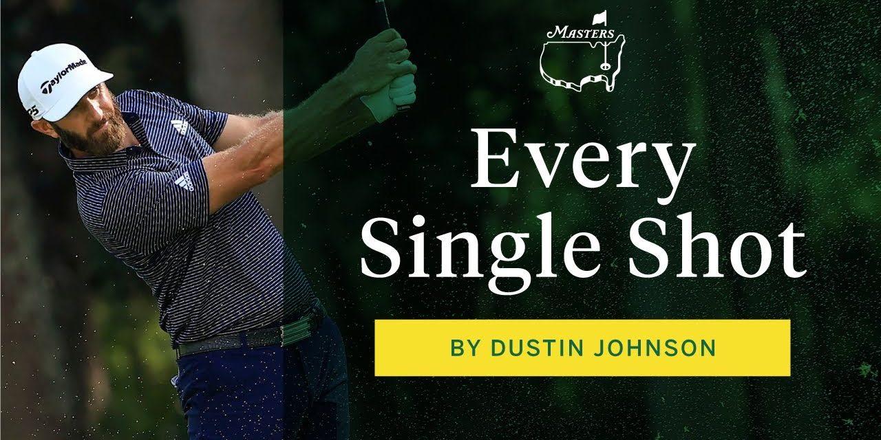 Dustin Johnson wins the Masters