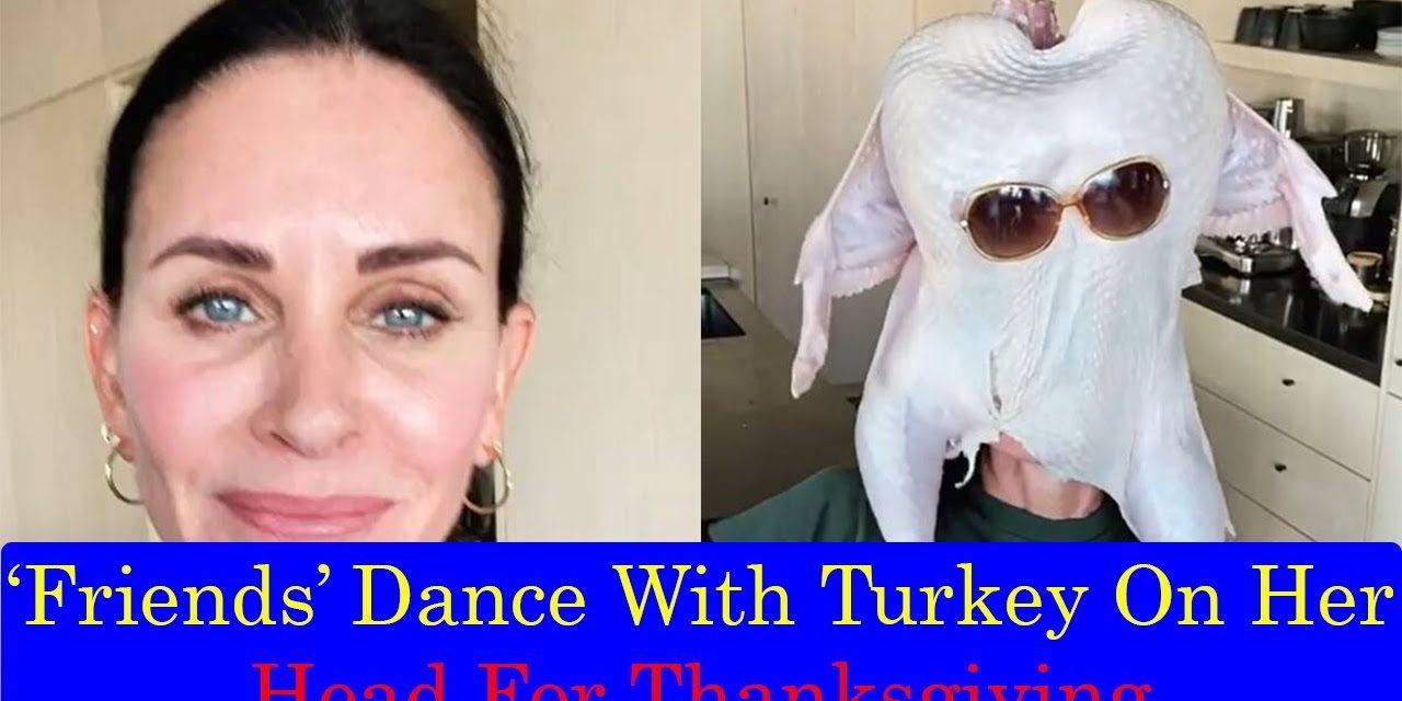 Courteney Cox Turkey Dance