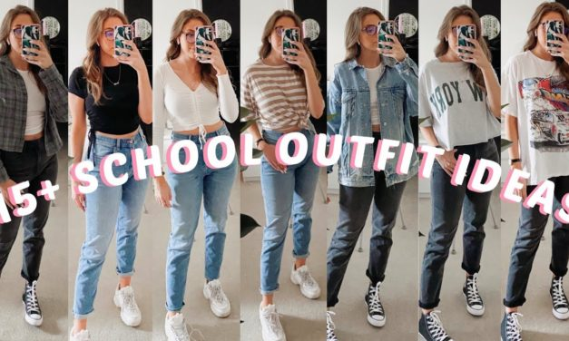 15+ BACK TO SCHOOL *CASUAL* OUTFIT IDEAS | LOOKBOOK | COMFY, CASUAL, & CUTE!