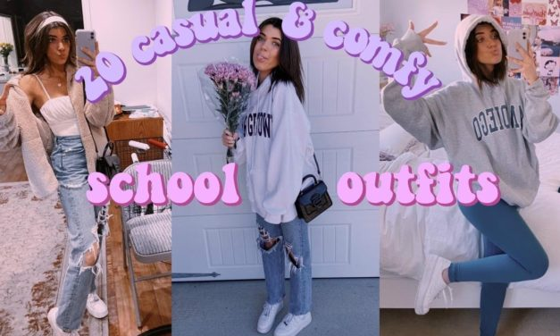 20 casual & comfy school outfits to rock 2020