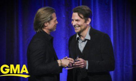 Brad Pitt reveals how Bradley Cooper led him to sobriety l GMA