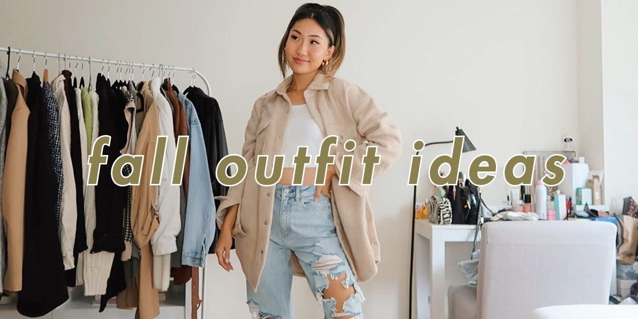 EASY AND CASUAL FALL OUTFITS IDEAS 🍂 (cute and simple everyday outfits!)
