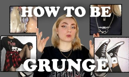 Girl Grunge – How to become a grunge girl?