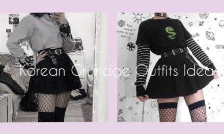 Korean Grunge Outfits