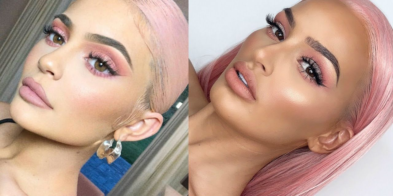 Kylie Jenner Pink Look