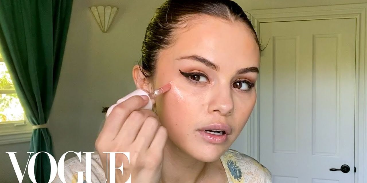 Selena Gomez's Guide to the Perfect Cat Eye   Beauty Secrets   Vogue
