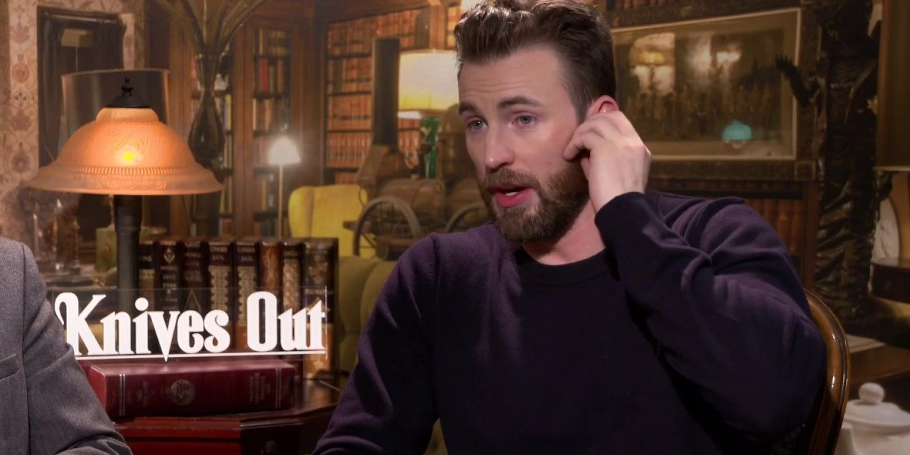 Chris Evans Knives Out