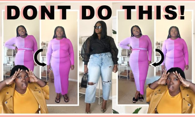5 THINGS YOU SHOULD STOP DOING 🛑THE WORST PLUS SIZE FASHION MISTAKES + TIPS TO FIX EM I SUPPLECHIC