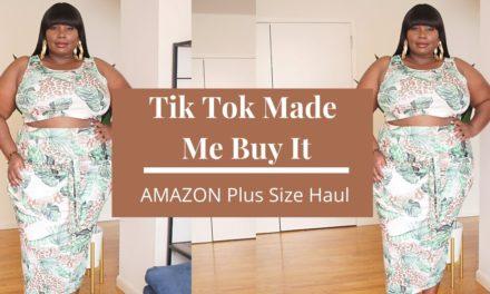 AMAZON Plus Size Favorites Fashion Haul | Tik Tok Fashion Finds
