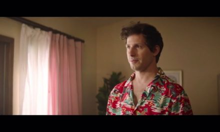 Andy Samberg explains the situation in Palm Springs (2020)