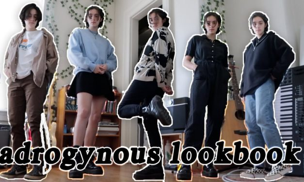 DARK ACADEMIA clothing (androgynous style)