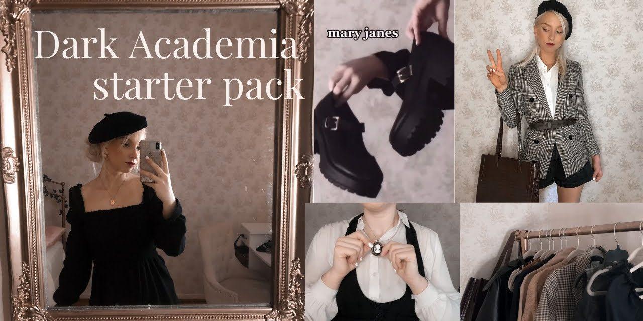 dark academia clothing essentials