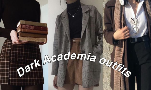Dark Academia Outfit Ideas 2020