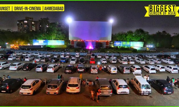 DRIVE-IN-CINEMA 📽️   AHMEDABAD   *Movie*   Open Air Theatre