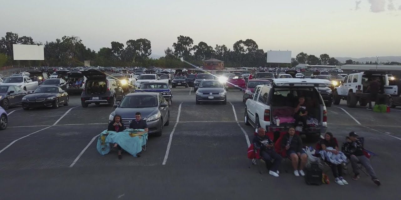 Drive-In Movie Theaters Booming Back to Life During Pandemic