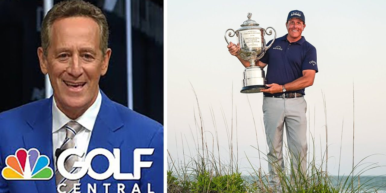 How 'discipline' allowed Mickelson to make history at the PGA | Golf Central | Golf Channel