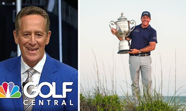 How 'discipline' allowed Mickelson to make history at the PGA   Golf Central   Golf Channel