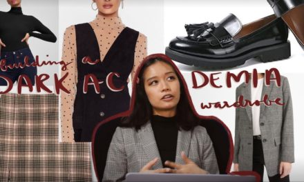 How to Build a Dark Academia Wardrobe from Scratch