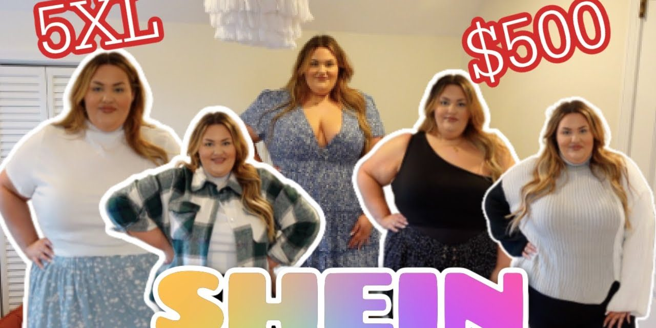 HUGE $500 PLUS SIZE SHEIN TRY ON HAUL⎮SHEIN CURVE