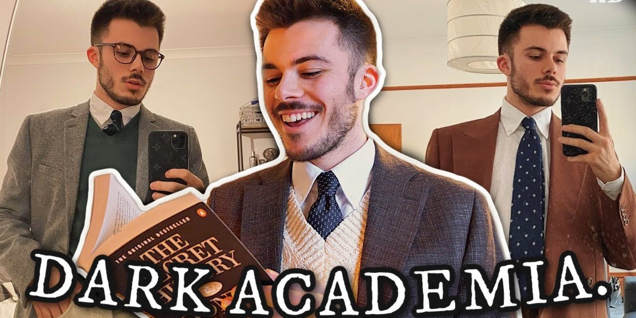 i tried the dark academia aesthetic for a week *fashion, books, music, and activities*