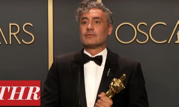 Oscar Winner Taika Waititi Full Press Room Speech | THR