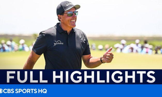 PGA Championship Round 2: FULL Highlights [Phil Mickelson, Brooks Koepka, & MORE]   CBS Sports HQ