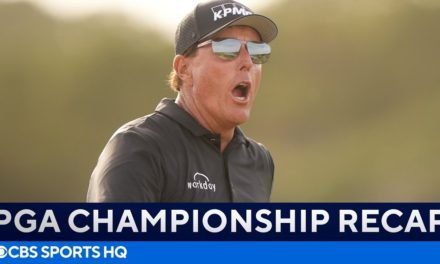 Phil Mickelson & Brooks Koepka Battle! | PGA Championship Round 2: FULL Recap | CBS Sports HQ
