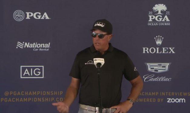 Phil Mickelson: Post Round 2 Interview 2021 PGA Championship ©PGA