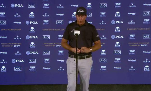 Phil Mickelson: Winner 2021 PGA Championship Interview