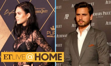 Scott Disick Spotted With Amelia Hamlin | ET Live @ Home