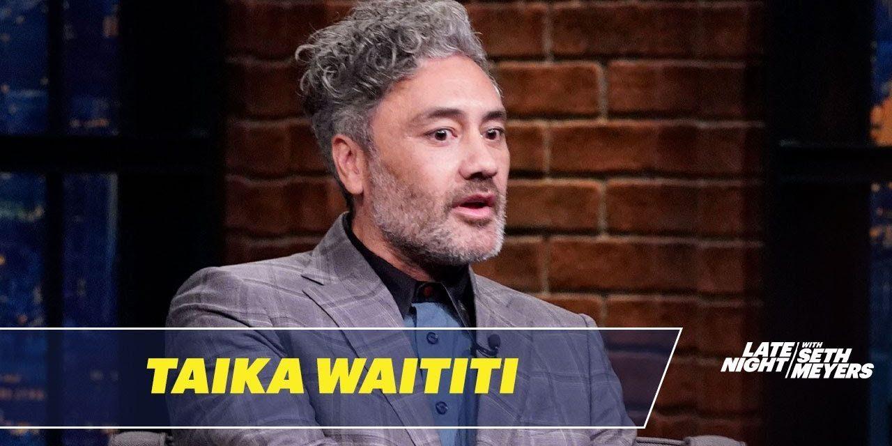 Taika Waititi Directed Jojo Rabbit While Dressed as Hitler