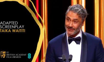 Taika Waititi's Hilarious Acceptance Speech for Jojo Rabbit's Adapted Screenplay Win | EE BAFTA Film