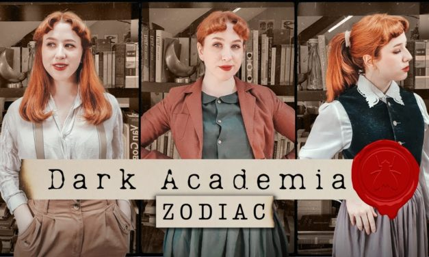 The Zodiac Signs as Dark Academia Outfits! // Lookbook
