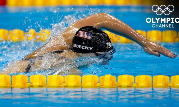 2️⃣2️⃣ – Katie Ledecky finishes 22 seconds ahead of her final competitor!   #31DaysOfOlympics