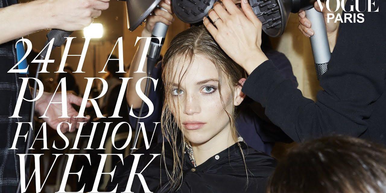 24 Hours At Paris Fashion Week With Top Model Rebecca Longendyke   Vogue Paris