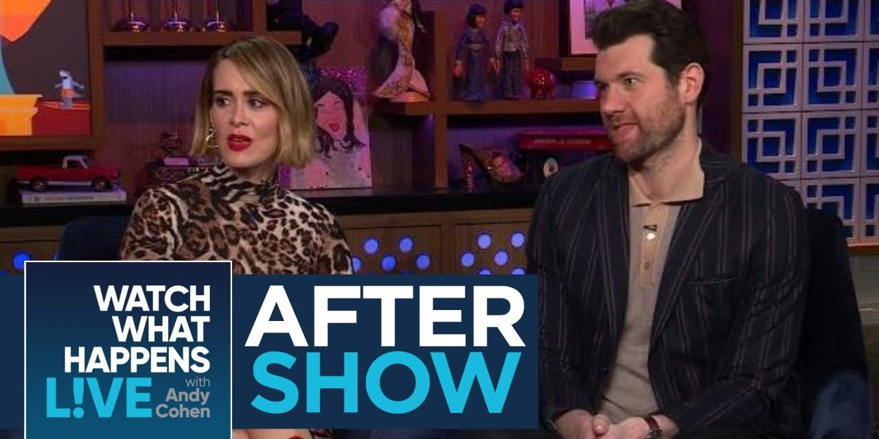 After Show: How Sarah Paulson And Holland Taylor Met | WWHL