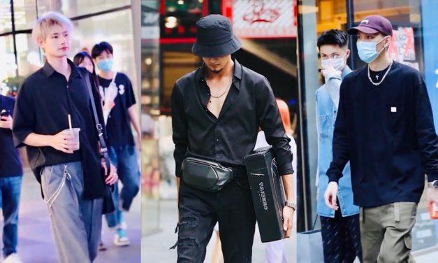 Asian's Men Street Fashion Epi 5   TikTok China