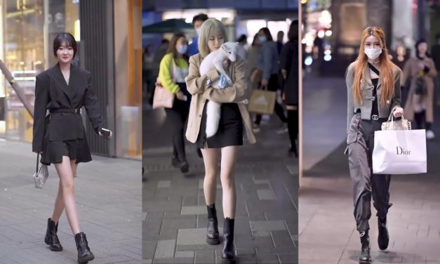 Chinese Girls Street Fashion ~ Viable Fashion[抖音]China TikTok Ep.10