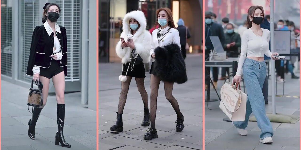 Chinese Street Fashion On Douyin #4