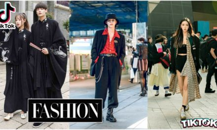 Chinese street fashion tik tok compilation
