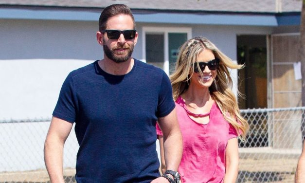 Christina Anstead Smiles With Ex Tarek El Moussa After Split From Husband Ant Anstead
