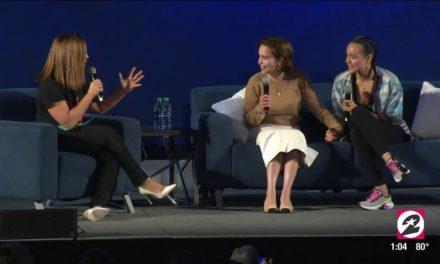 Emilia Clarke & Nathalie Emmanuel on their bond, Beyoncé and what happens behind the scenes at GOT