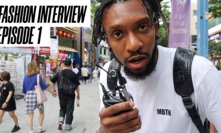 EPIC Fashion Street Interview 1 |  Hongdae, Seoul, South Korea