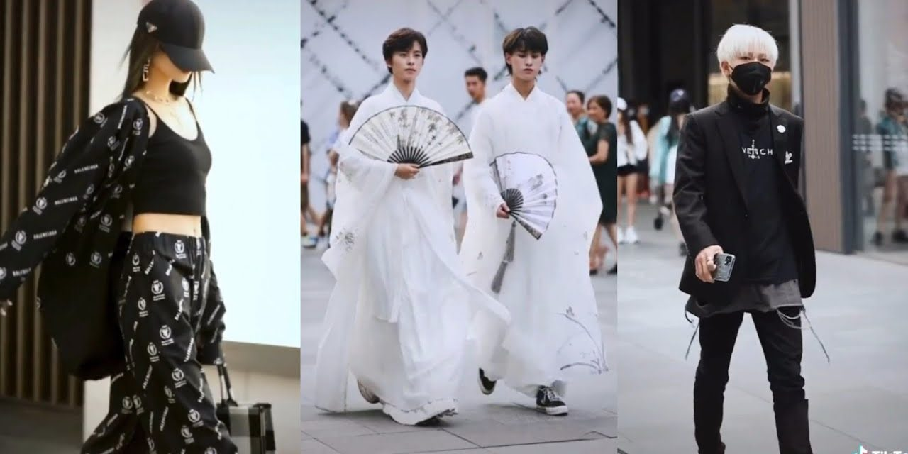 Fashion Walking Styles in China tiktok compilation