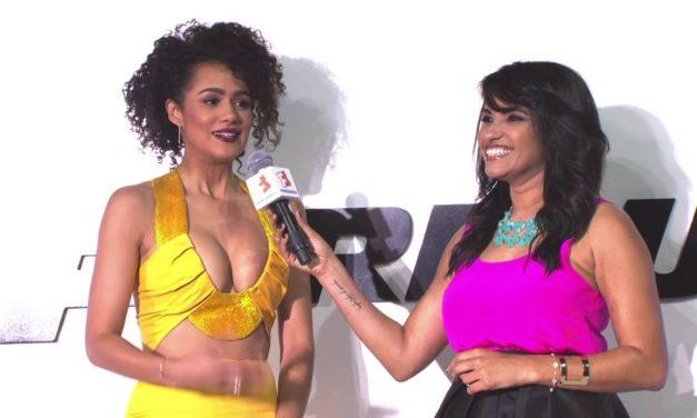 Furious 7 Premiere Nathalie Emmanuel Interview – Fast & Furious 7