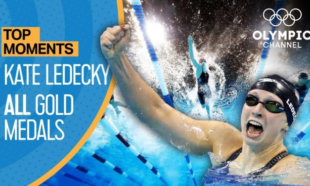 Katie Ledecky  – ALL Gold Medal Races  Top Moments