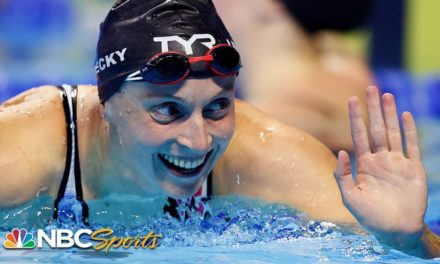 Katie Ledecky ends long day with convincing 200m free semifinal win | NBC Sports