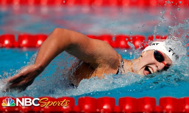 Katie Ledecky laps competition in TYR Pro Swim Series 1500m freestyle win   NBC Sports