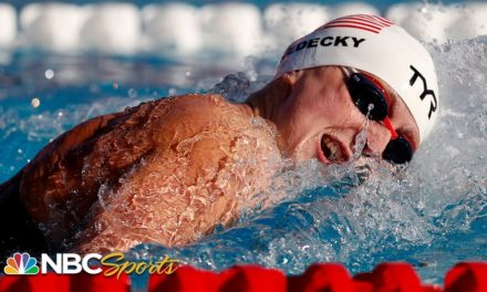 Katie Ledecky ties U.S. Open record in Mission Viejo 200 free | NBC Sports